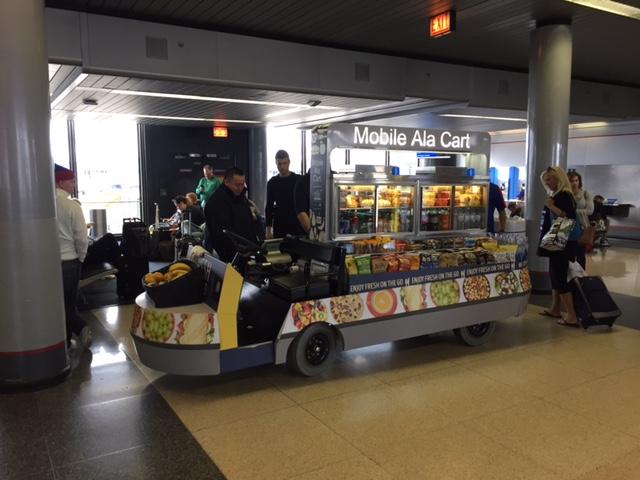 HMSHost Mobile Food Cart