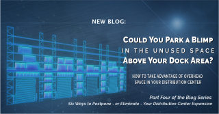 Six Ways to Postpone DC Expansion Part IV - Overhead Space DCV