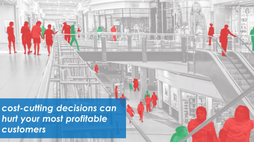 cost-cutting decisions can hurt your most profitable customers